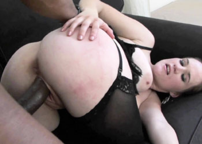 Joo Rin takes on a big black cock